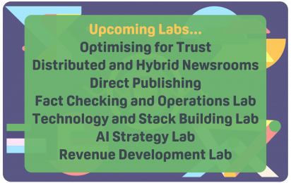 List of upcoming Labs